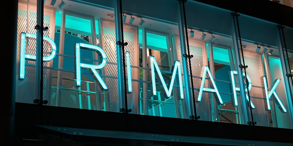 Cologne, Germany - October 19, 2015: Primark store in the center of Cologne at night ......