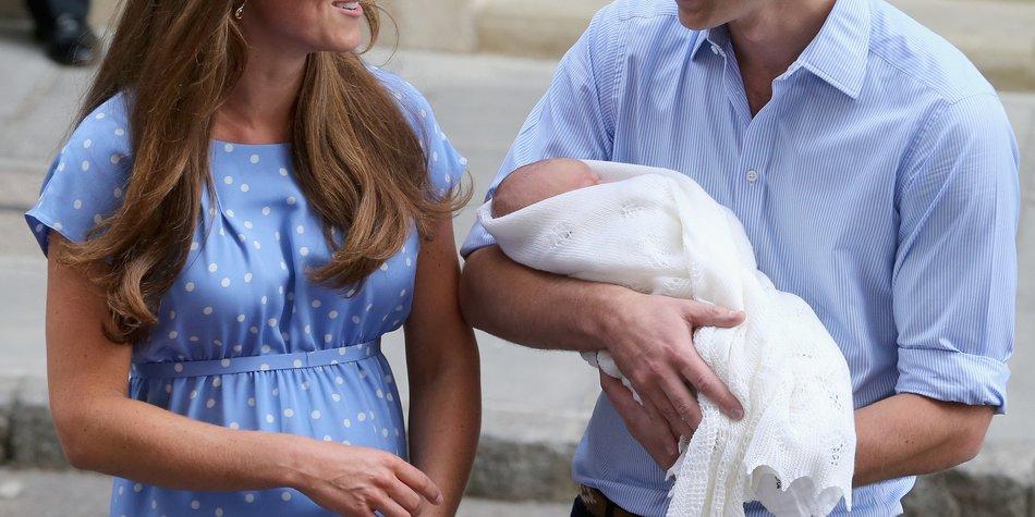Kate Middleton: Die kleine Familie ist wieder vereint