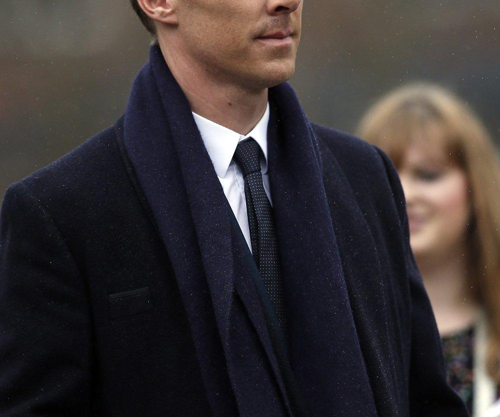 Benedict Cumberbatch ist ein ganz normaler Tourist