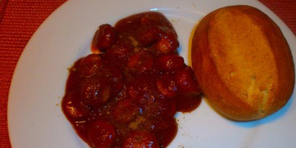 Sosse zu Currywurst