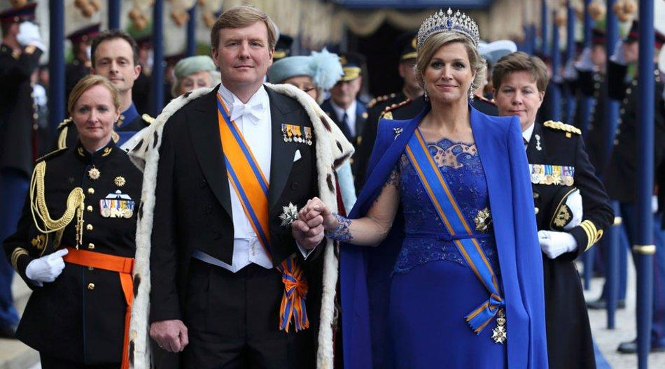 Das neue Königspaar: Willem-Alexander und Gattin Máxima