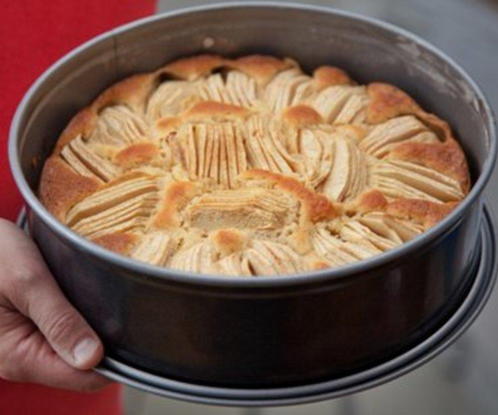 Apfelkuchen Rührteig