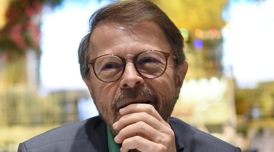 """Björn Ulvaeus zeigt Bewunderung für """"Ein bisschen Frieden""""."""