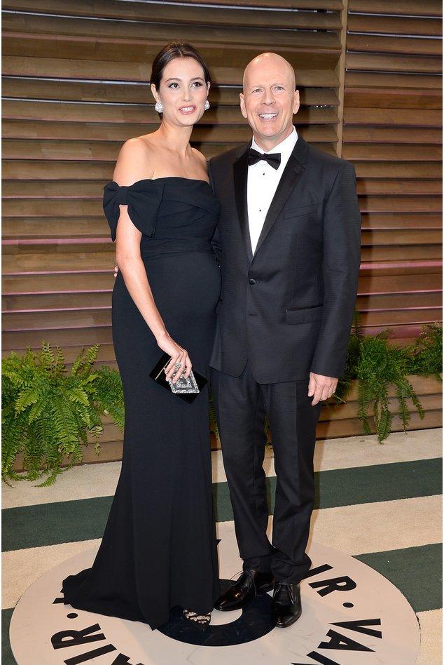 Bruce Willis und Emma Heming-Willis auf der Vanity Fair Party 2014