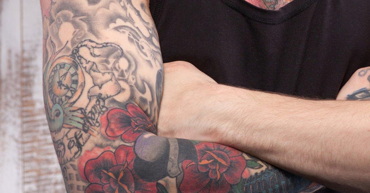Uhr männer tattoo motive Tattoo am