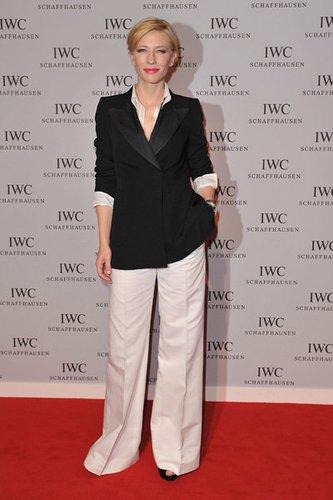 Die australische Schauspielerin Cate Blanchett in Genf