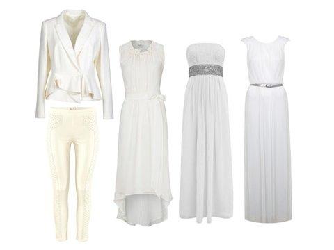 Zalando lange weiße kleider