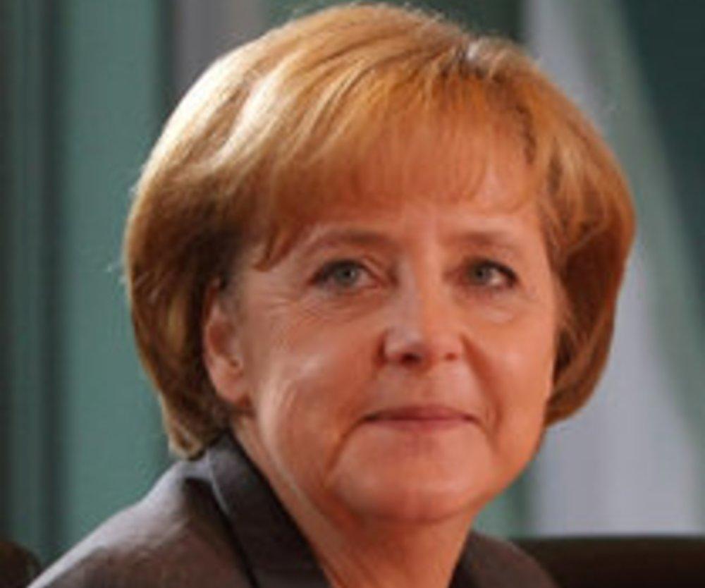 Bundeskanzlerin Angela Merkel im Porträt