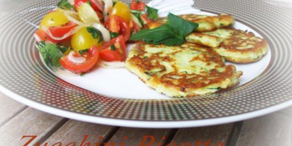 Zucchini-Ricotta-Plätzchen
