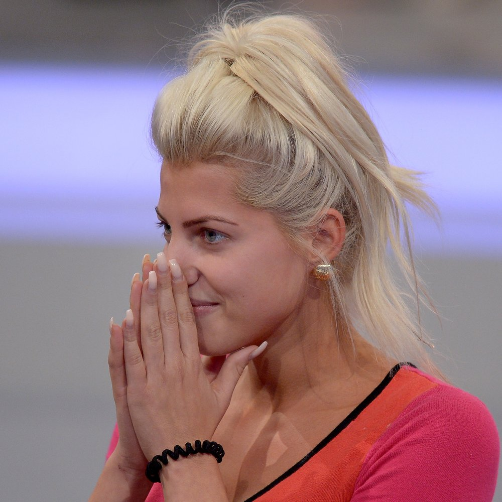 COLOGNE, GERMANY - AUGUST 28: Sarah Nowak attends the final show of Promi Big Brother 2015 at MMC studios on August 28, 2015 in Cologne, Germany. (Photo by Sascha Steinbach/Getty Images)