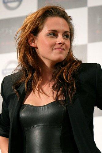 Twilight Star Kristen Stewart auf einer Pressekonferenz