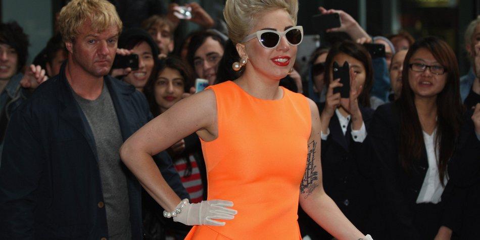 Lady Gaga: Badewannen-Talk mit Mick Jagger