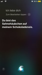 Lustige Siri Fragen und Antworten