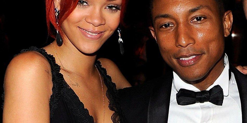 Rihanna und Pharrell Williams: Fashionshow im US-TV!
