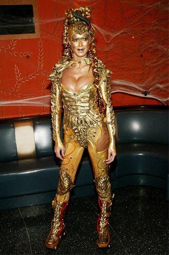 Heidi Klum an Halloween 2003