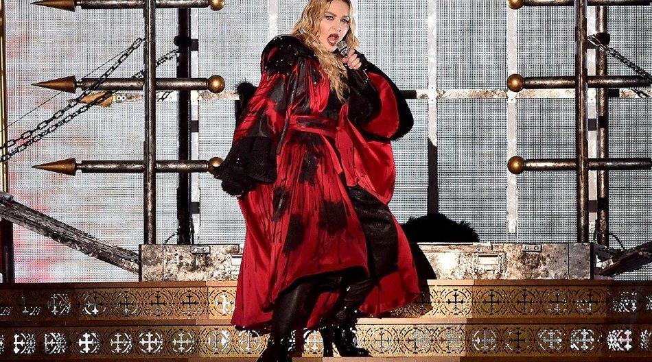 """Madonna bei einem Konzert ihrer """"Rebel Heart"""" Tour"""
