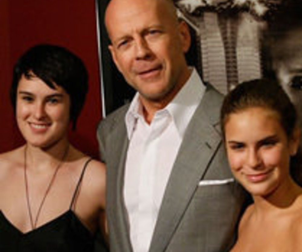 Bruce Willis: Strenger Vater