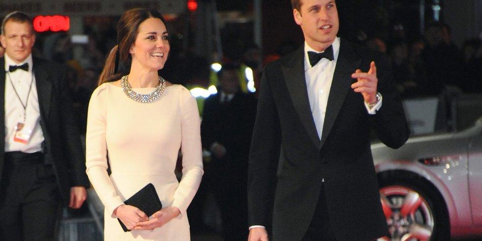 Kate Middleton und Prinz William erregen mit ihrem Liebesurlaub Aufsehen