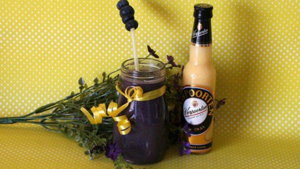 VERPOORTEN Heidelbeer-Smoothie mit Eis und Cassis