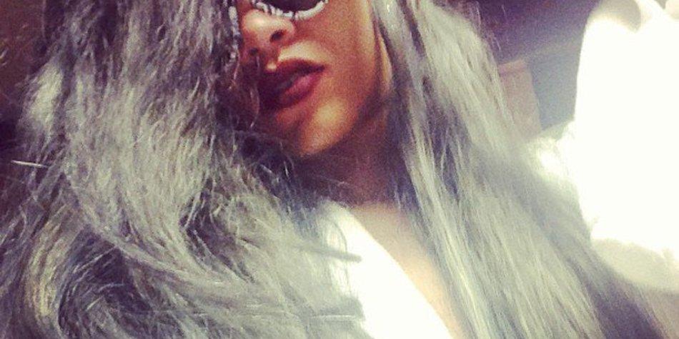 Rihanna hat jetzt graue Haare!