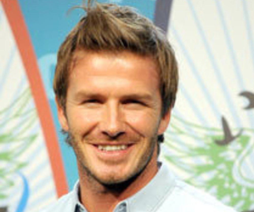 David Beckham beim Männertag