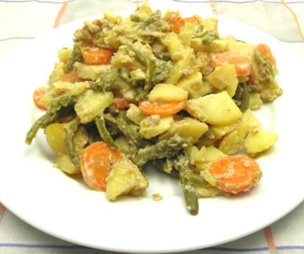 Vegetarischer Kartoffelauflauf