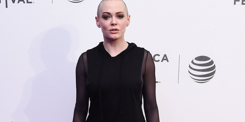 """NEW YORK, NY - APRIL 22: Actress Rose McGowan attends """"SHOT! The Psycho-Spiritual Mantra Of Rock"""" Screening during 2016 Tribeca Film Festival on April 22, 2016 in New York City. (Photo by Ilya S. Savenok/Getty Images for Tribeca Film Festival)"""