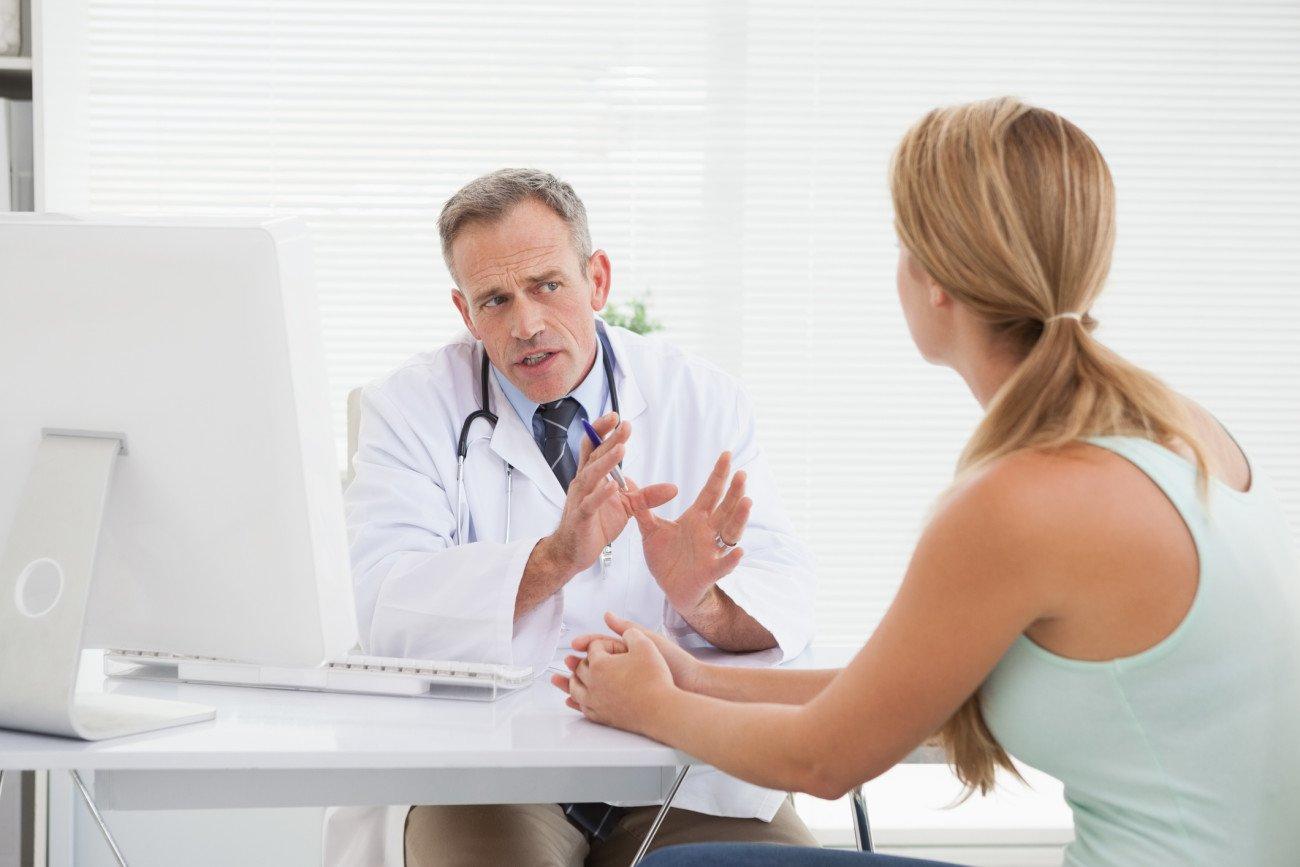 Schmierblutung statt Periode Arztbesuch