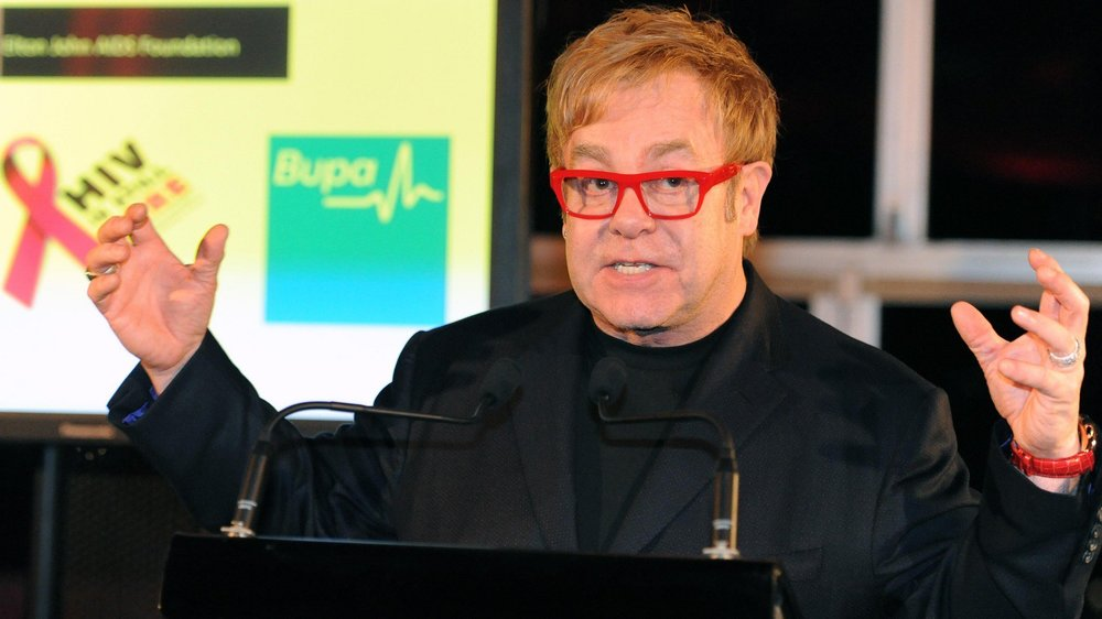Elton John: Die Familie geht vor