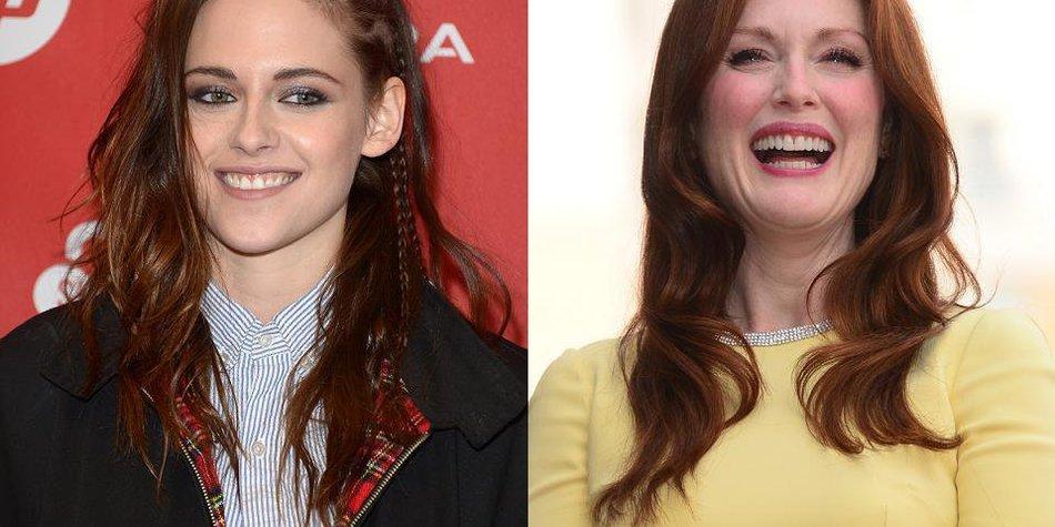 Kristen Stewart freut sich auf Julianne Moore