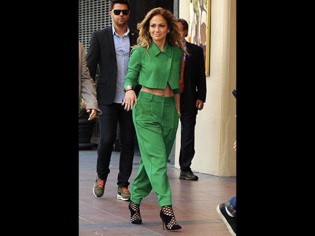 Jennifer Lopez Grün