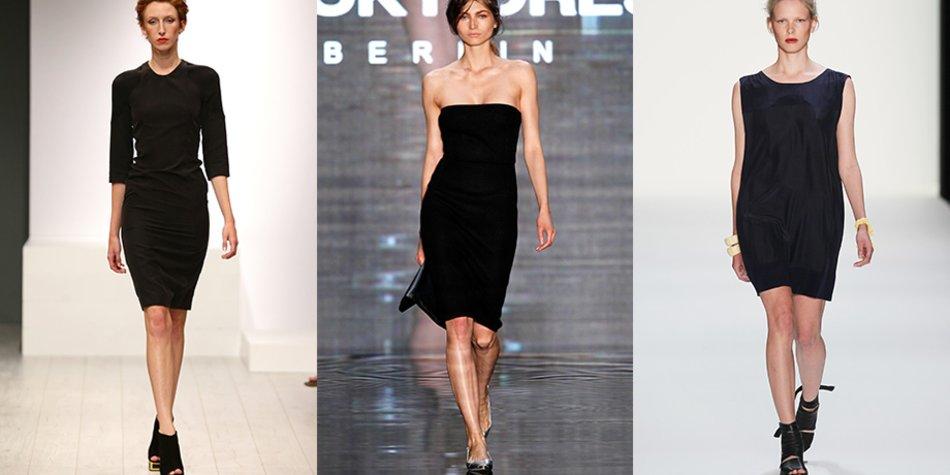 Das Kleine Schwarze Ein Kleid Funf Styling Moglichkeiten Fur Jede