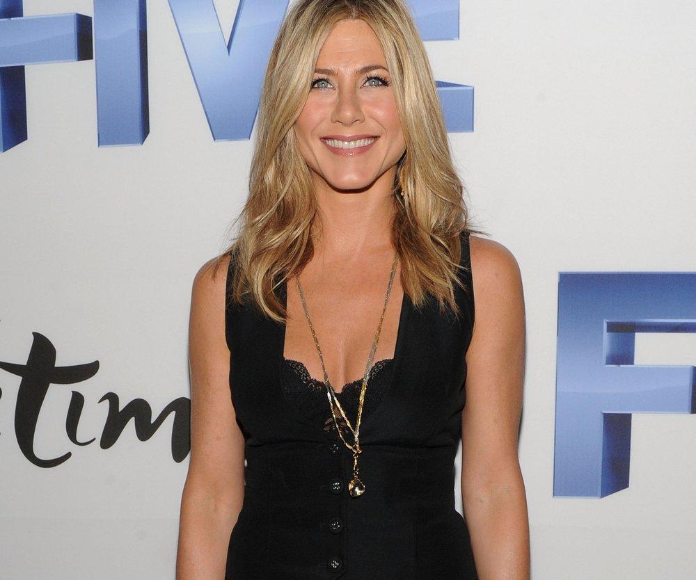 Jennifer Aniston ist glücklich