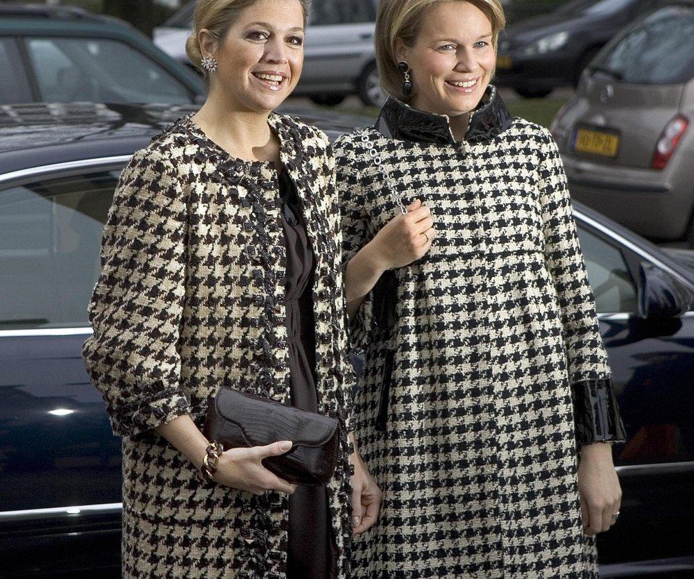 Maxima und Mathilde von Belgien sind Style-Schwestern