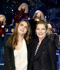 Cara Delevingne und Kate Moss halten zusammen