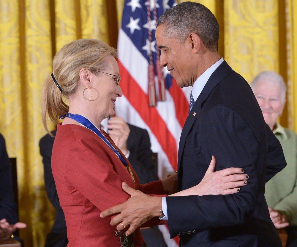 Meryl Streep bekommt eine Freiheitsmedaille