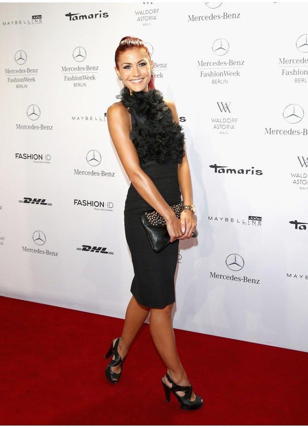 Fiona Erdmann auf der Berliner Fashion Week