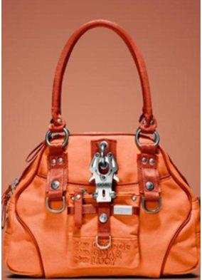 Orangefarbene George Gina & Lucy Handtasche