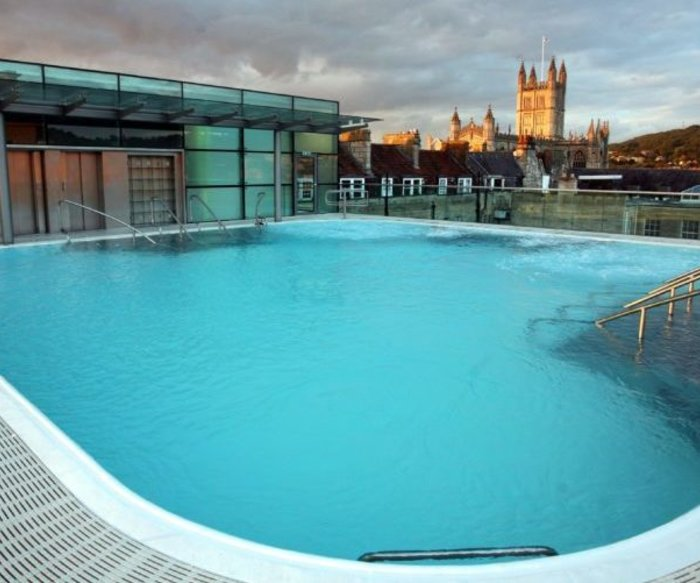 Thermae Bath Spa in England