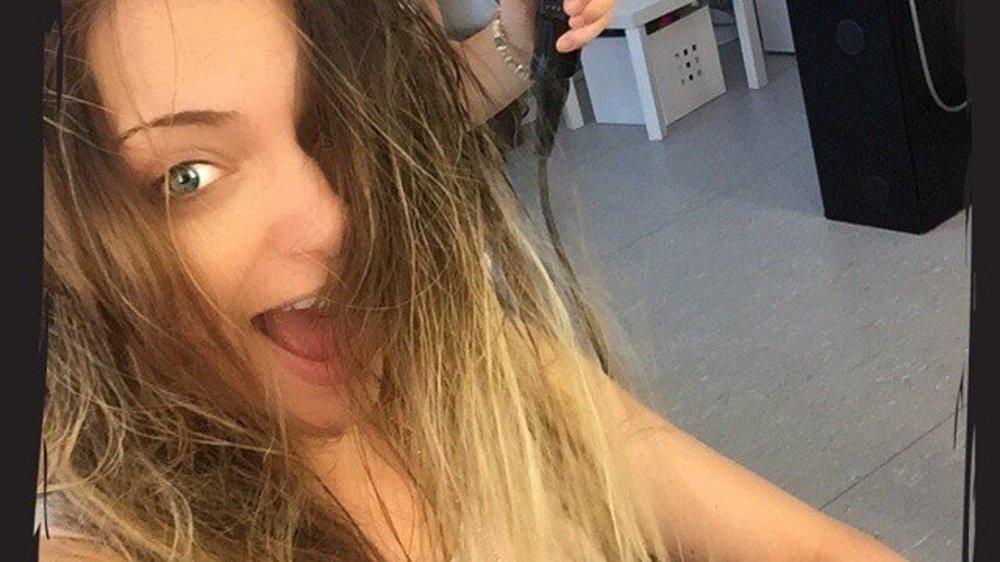 GZSZ-Star Anne Menden auch ungeschminkt ein Hingucker
