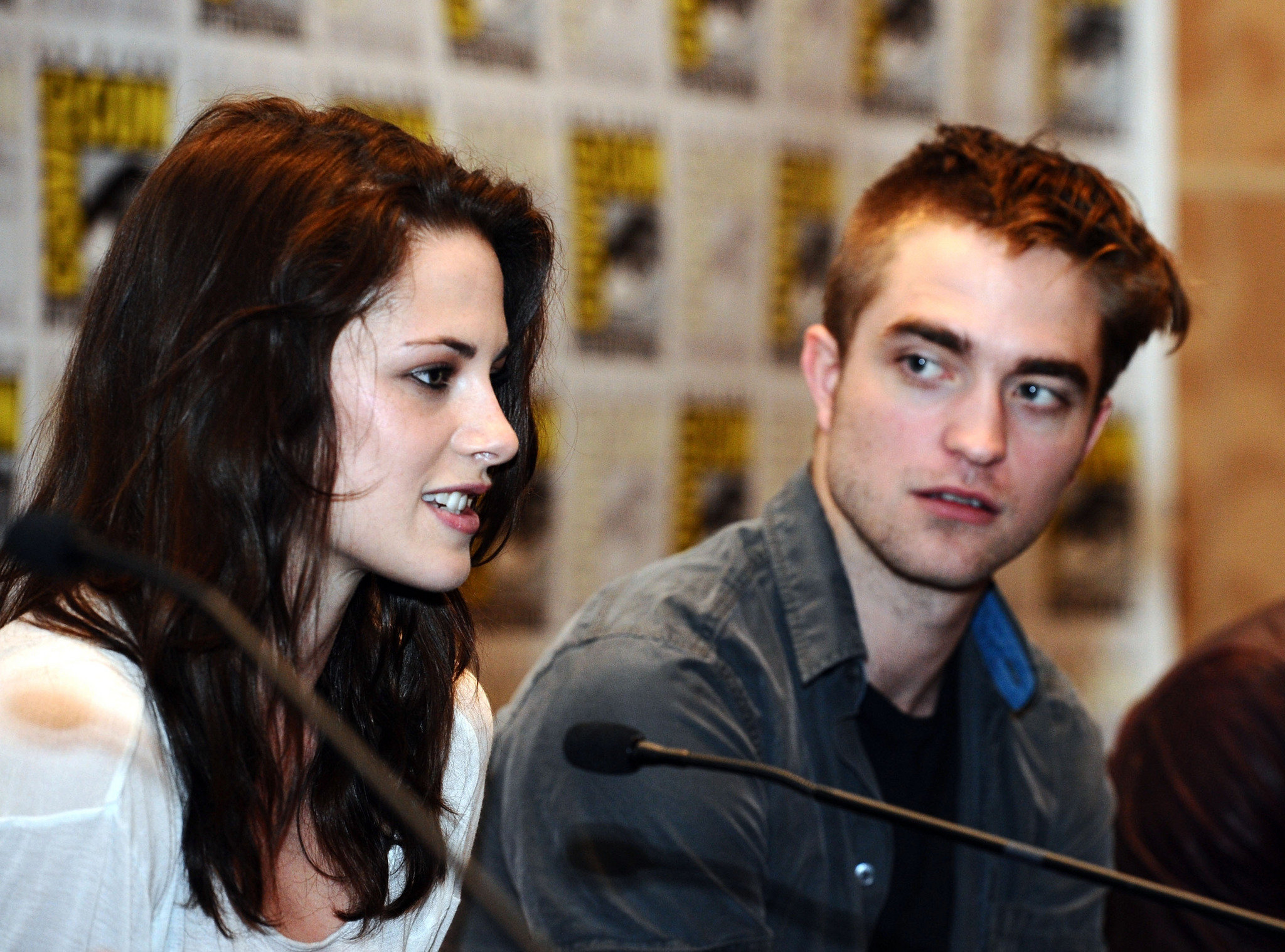 Robert Pattinson with ex Kristen Stewart