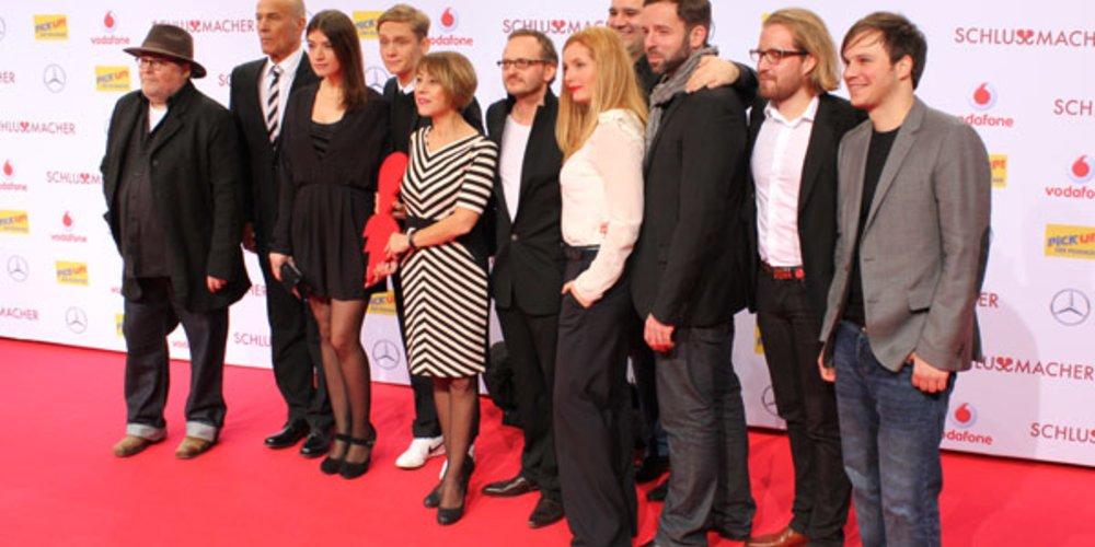 Der Cast um Matthias Schweighöfer bei der Schlussmacher Premiere