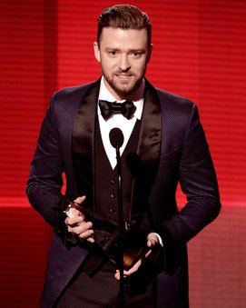 Justin Timberlake bei den American Music Awards