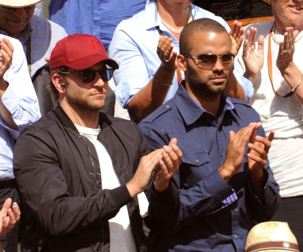 Bradley Cooper: Männerfreundschaft mit Tony Parker!