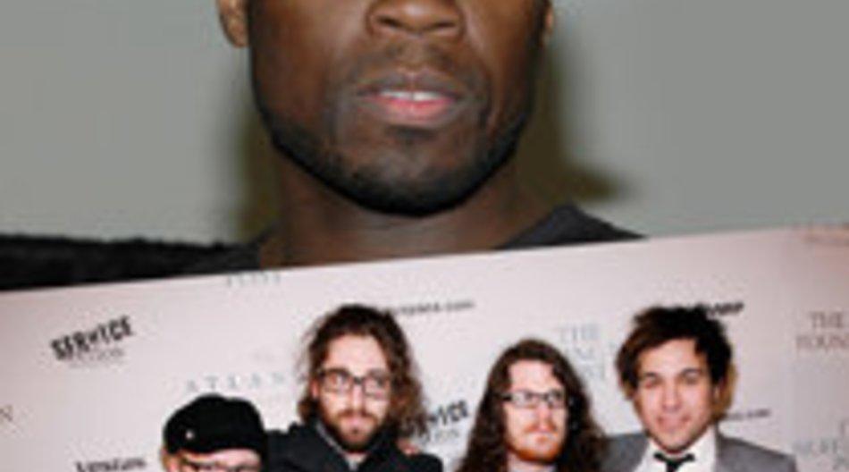 Fall Out Boy und 50 Cent zusammen auf Tour
