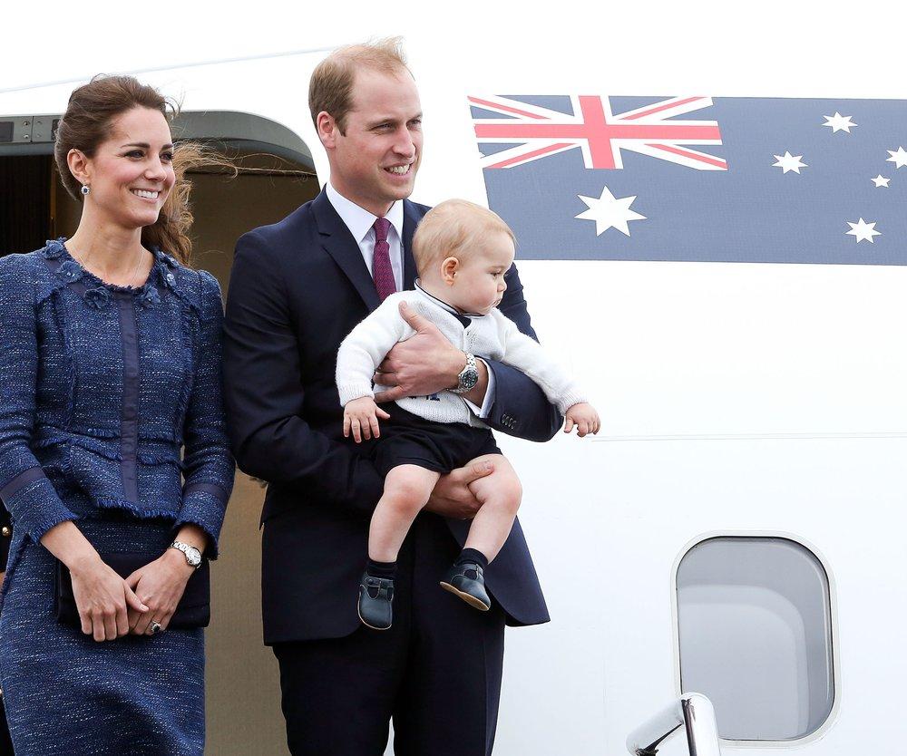 Kate Middleton, Prinz William und Prinz George: Bye bye, Mustique!
