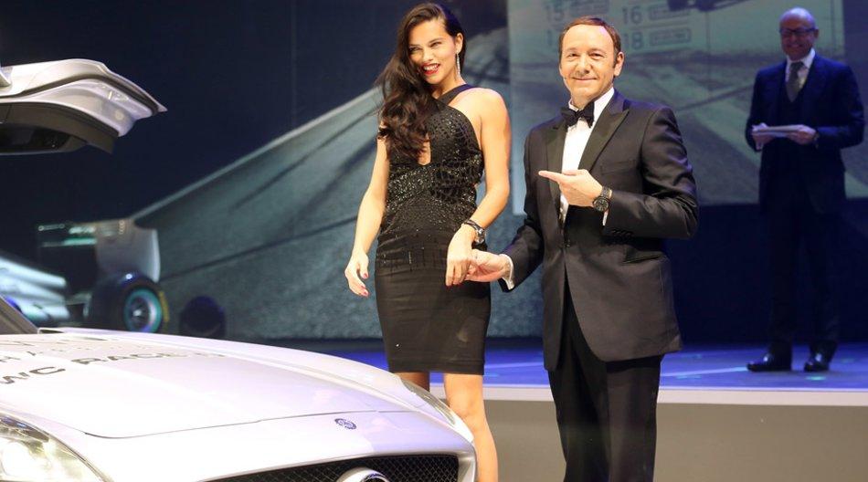 Adriana Lima und Kevin Spacey auf der IWC-Party, SIHH Genf