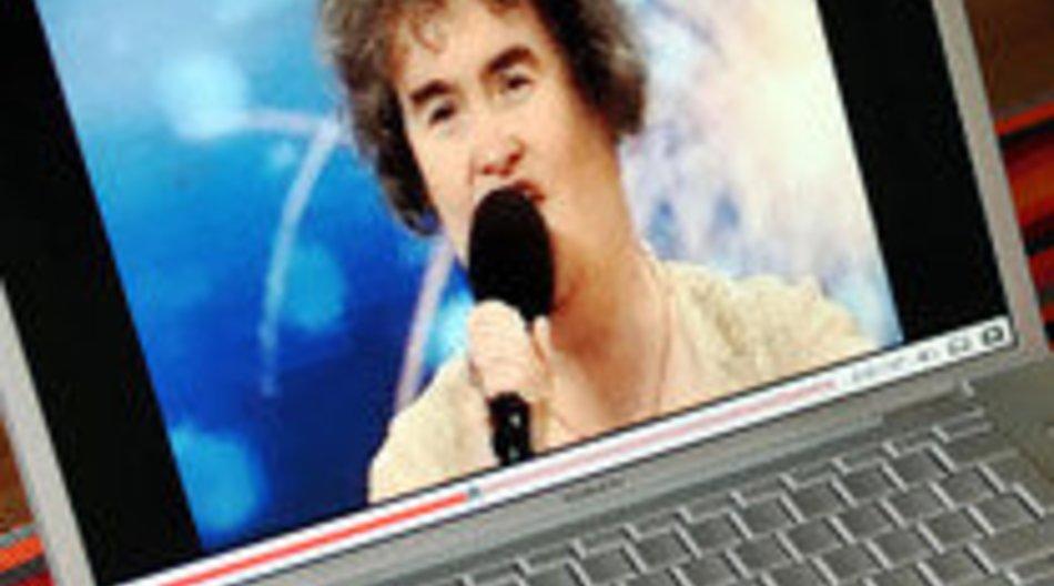 Neuer YouTube Star Susan Boyle