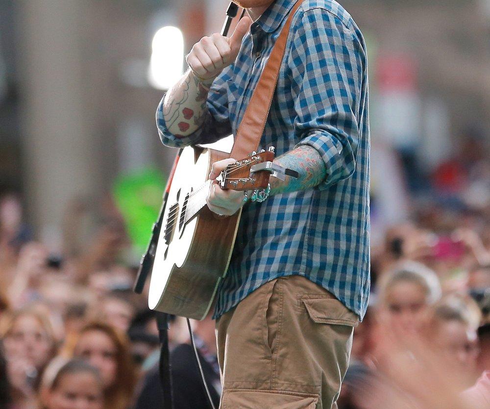 Ed Sheeran plant keinen Umzug