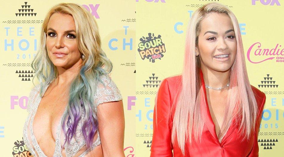 Britney Spears und Rita Ora